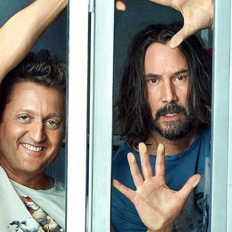 bill & ted face the music'ten yeni bir görsel var