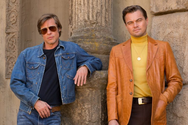 once upon a time in hollywood'dan retro aromalı poster