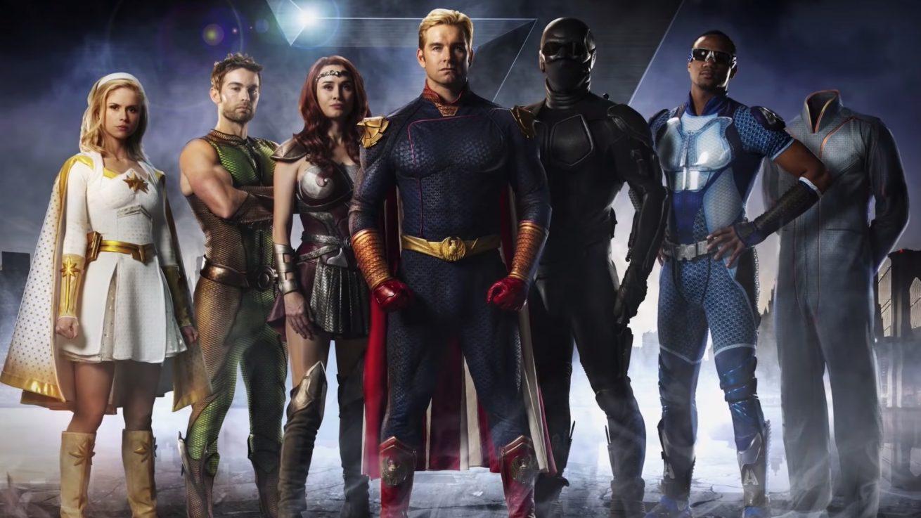 seth rogen'ın süper kahraman dizisi the boys'tan bir fragman daha