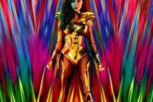 wonder woman 1984'ten altın kız tadında poster