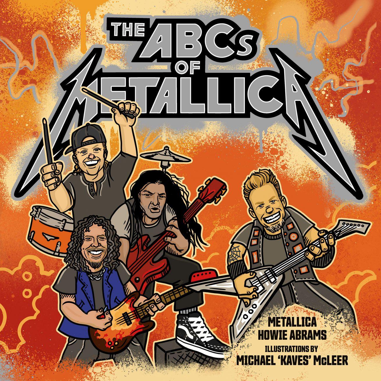 metallica'dan grubun abc'sini anlatacak çocuk kitabı