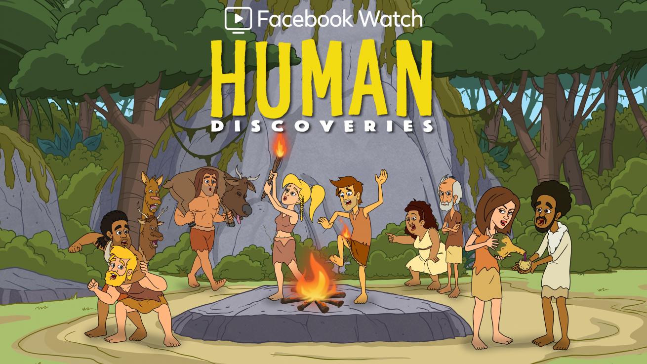facebook'un animasyon dizisi human discoveries'ten ilk fragman