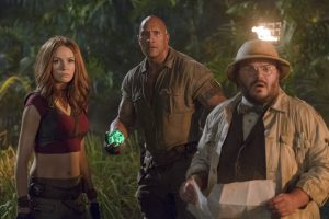 jumanji: the next level'dan ilk fragman