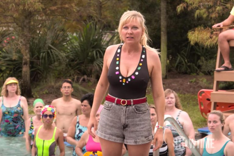 kirsten dunst'lı dizi on becoming a god in central florida'dan fragman