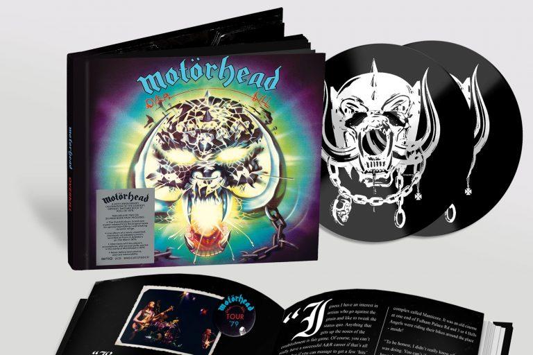 motörhead'den overkill ve bomber albümlerinin kırkıncı yılına özel box set