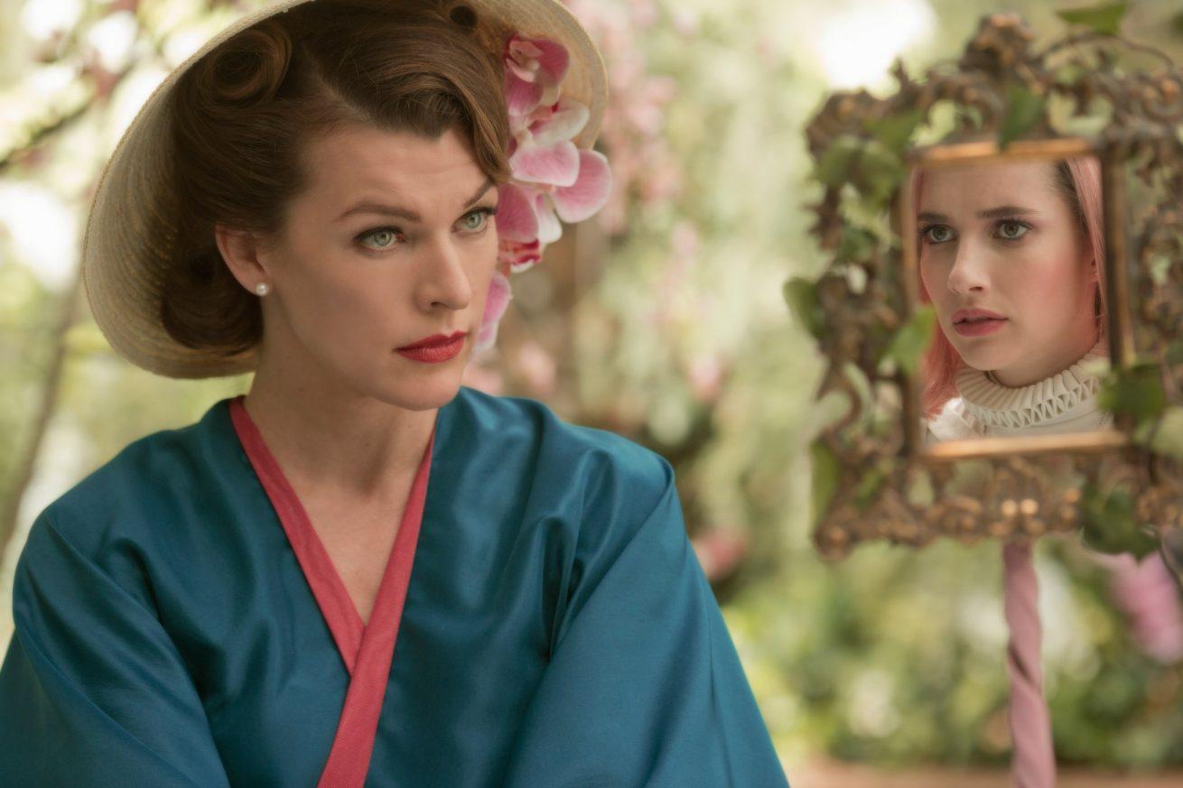 milla jovovich ve emma roberts'lı bilim kurgu filmi paradise hill'den fragman