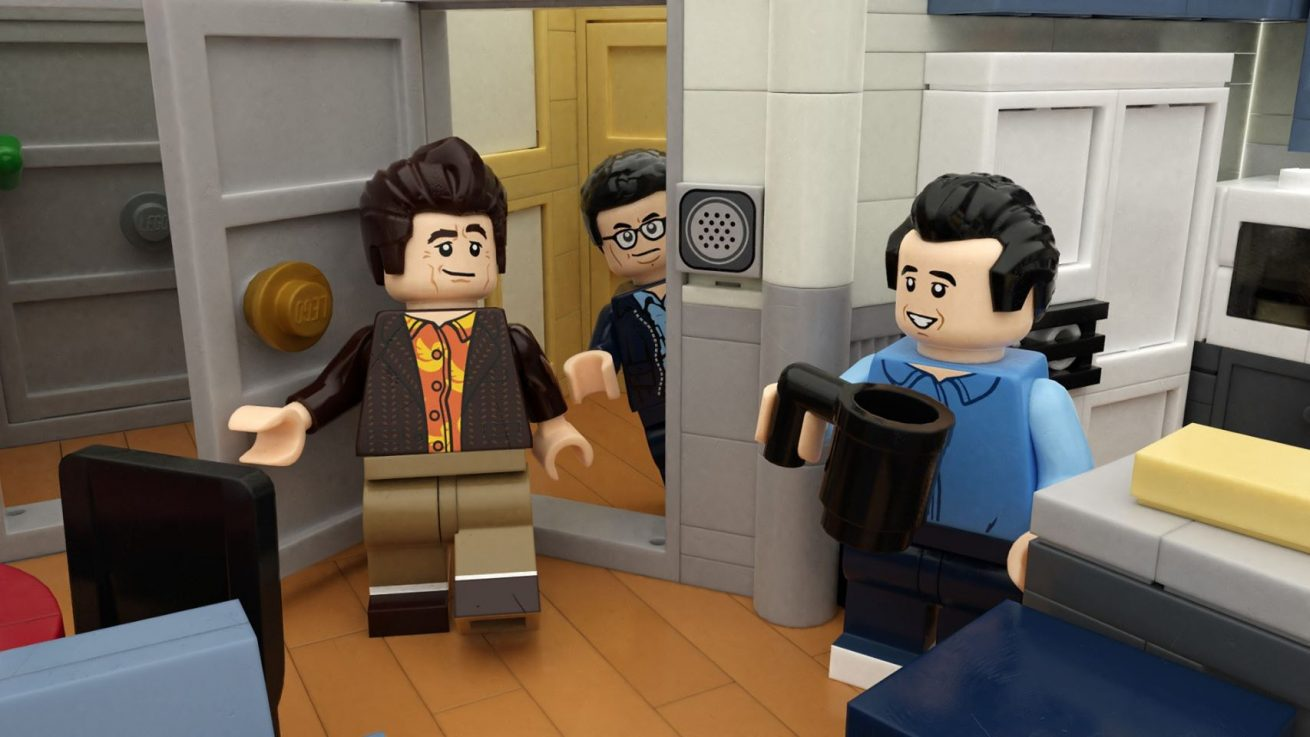 seinfeld'in new york'taki dairesi lego oluyor