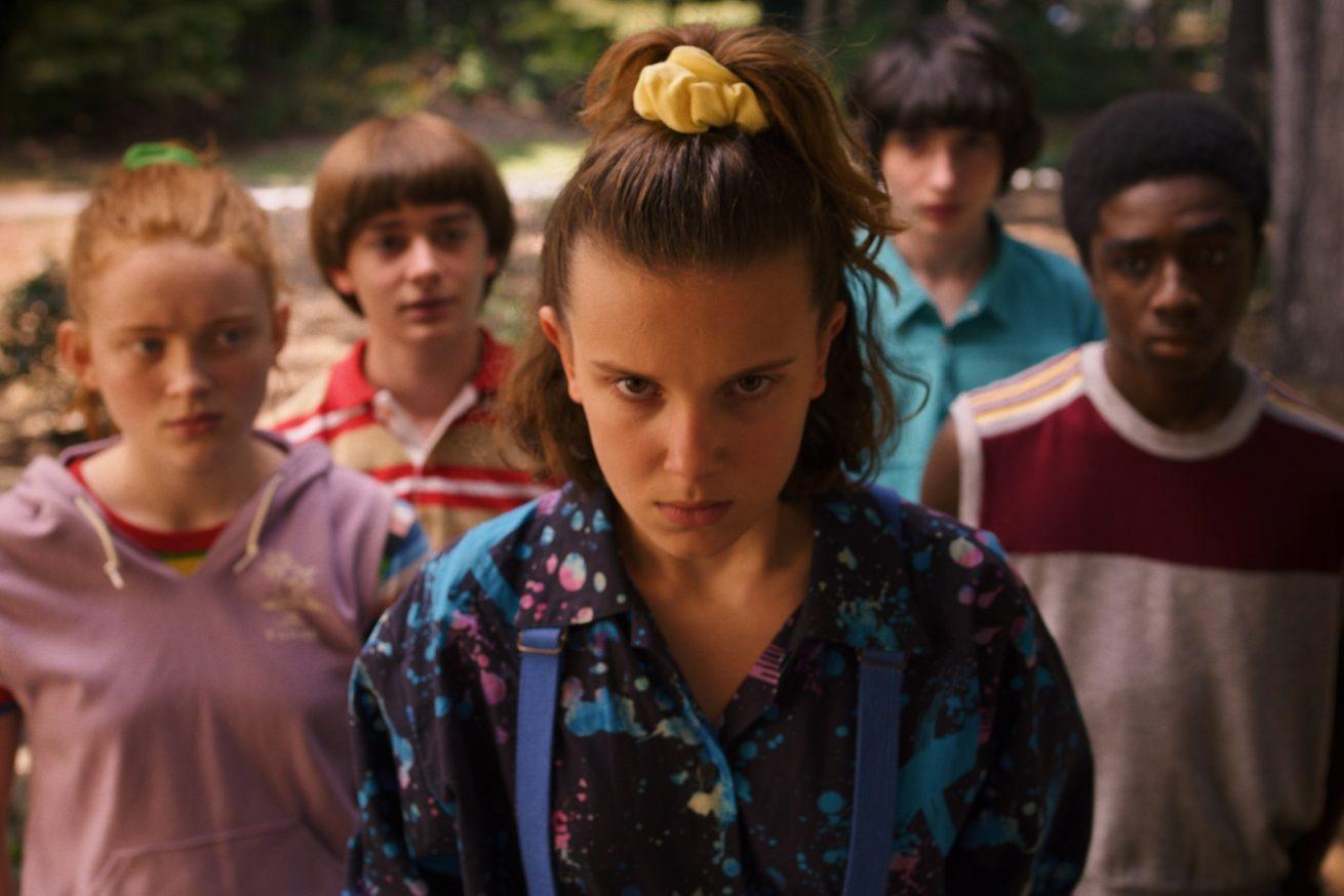 stranger things 3. sezonuyla yayında