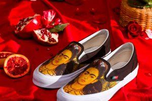 yeni vans koleksiyonu için frida kahlo'ya bağlanıyoruz