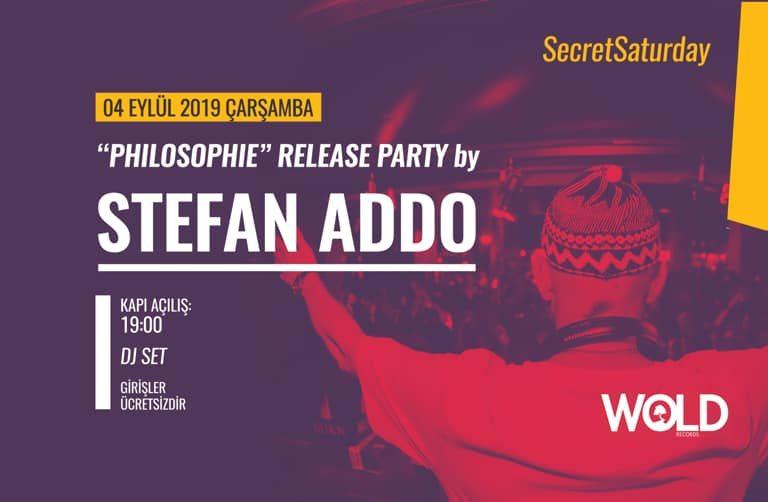 secret saturday: stefan addo