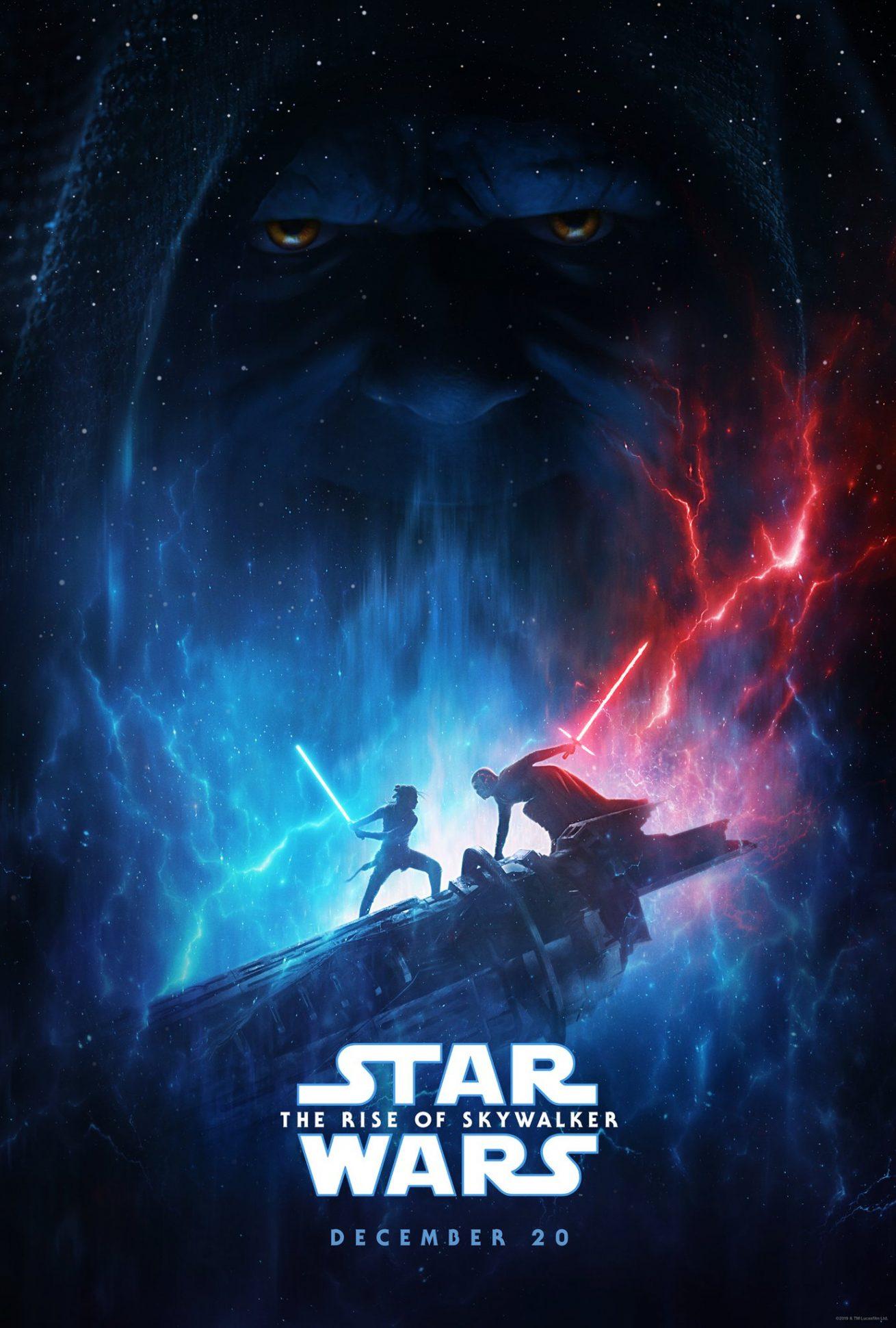 yeni star wars üçlemesinin son filmi the rise of skywalker'dan fragman ve poster bir arada