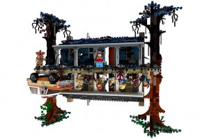 stranger things & lego iş birliğinden bir adet maketiniz var