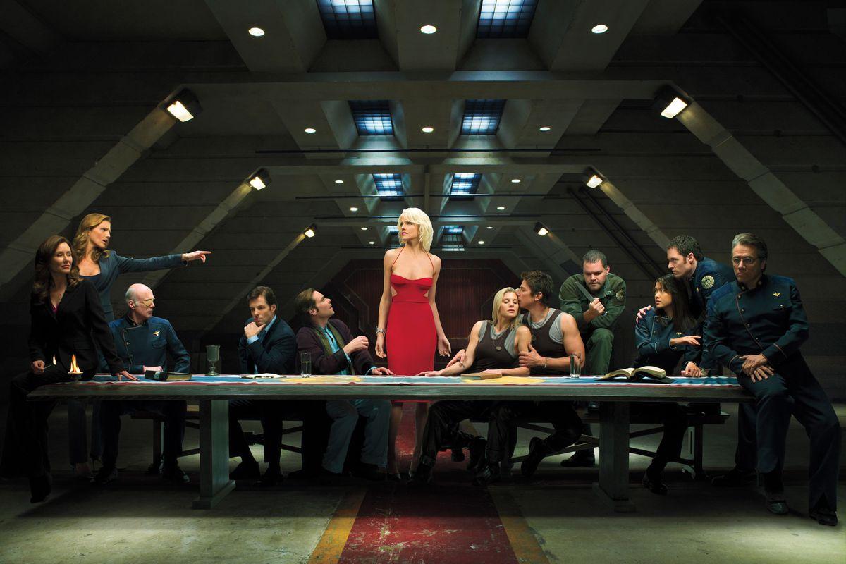 battlestar galactica'nın dizisi yeniden çekiliyor