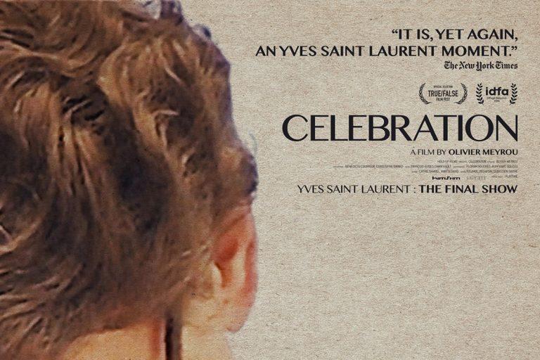 yves saint laurent'ın son defilesini anlatan celebration'dan fragman