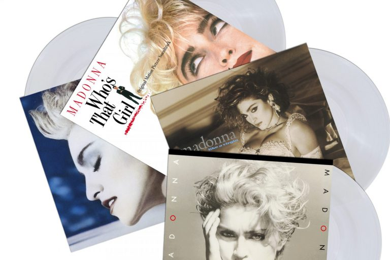 madonna'nın ilk 4 albümü plak formatında tekrar yayınlanıyor