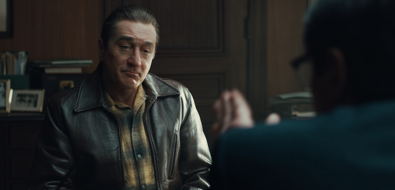 martin scorsese, robert de niro, al pacino ve joe pesci ile the irishman üzerine