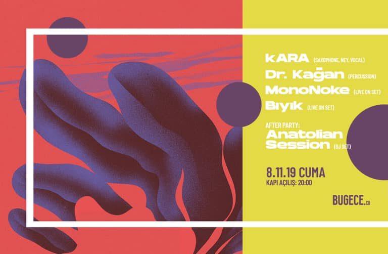 kara / dr.kağan / mononoke / bıyık / anatolian sessions