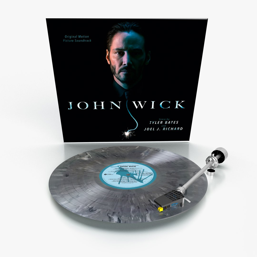 john wick, plak formatında kulaklarımızı dövmeye geliyor
