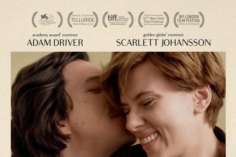 scarlett johansson ve adam driver'lı marriage story'den yeni fragman