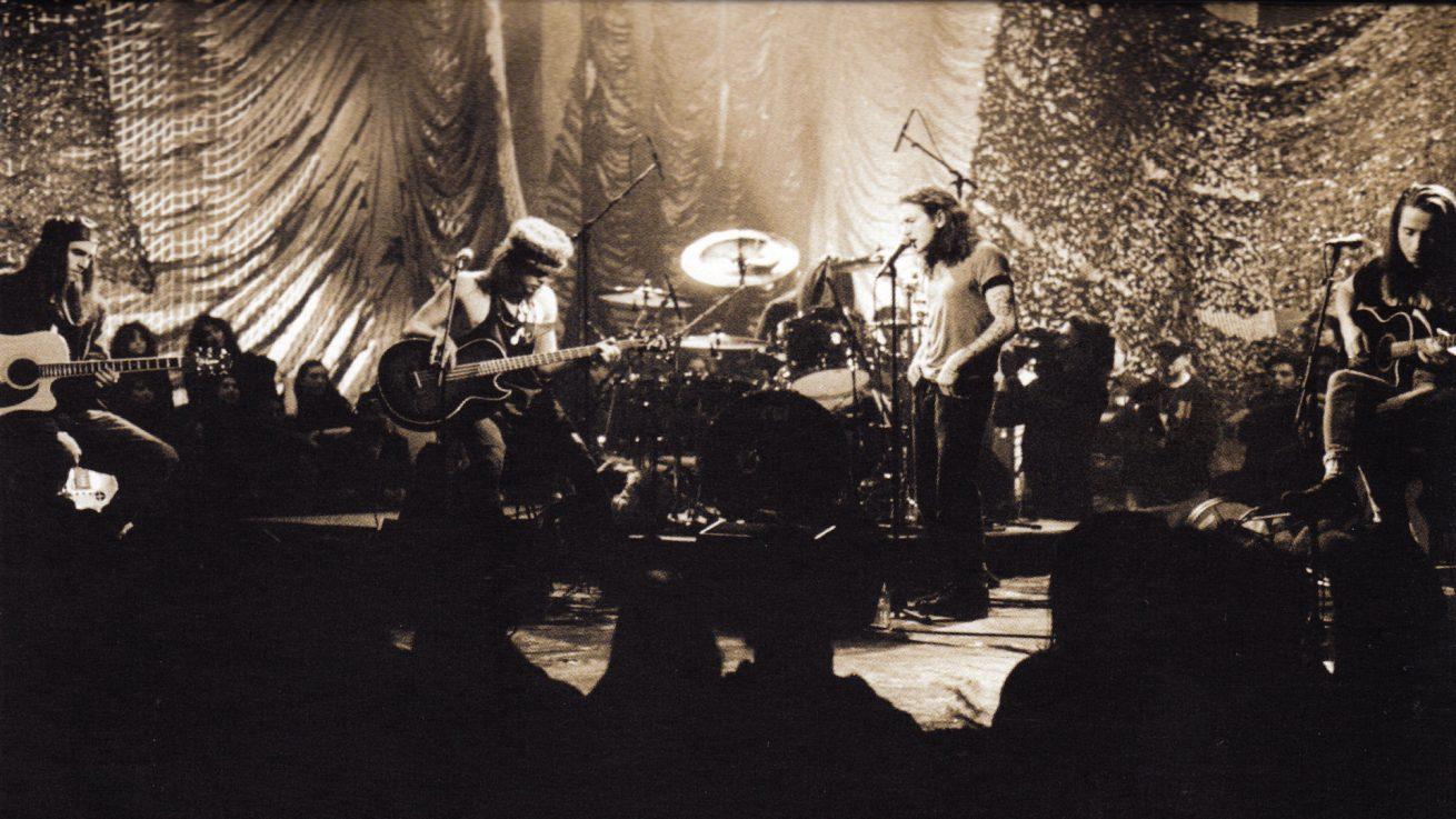 pearl jam'in mtv unplugged albümü plak formatında yayınlanacak