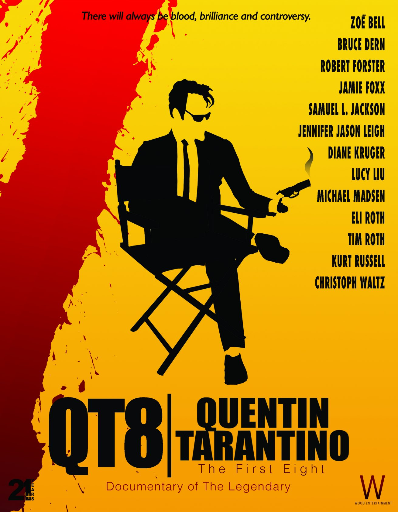 quentin tarantino'nun ilk sekiz filmini anlatacak the first eight'ten fragman