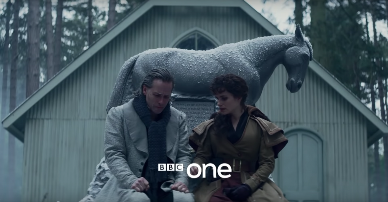 bbc'nin a christmas carol dizisinden ilk fragman