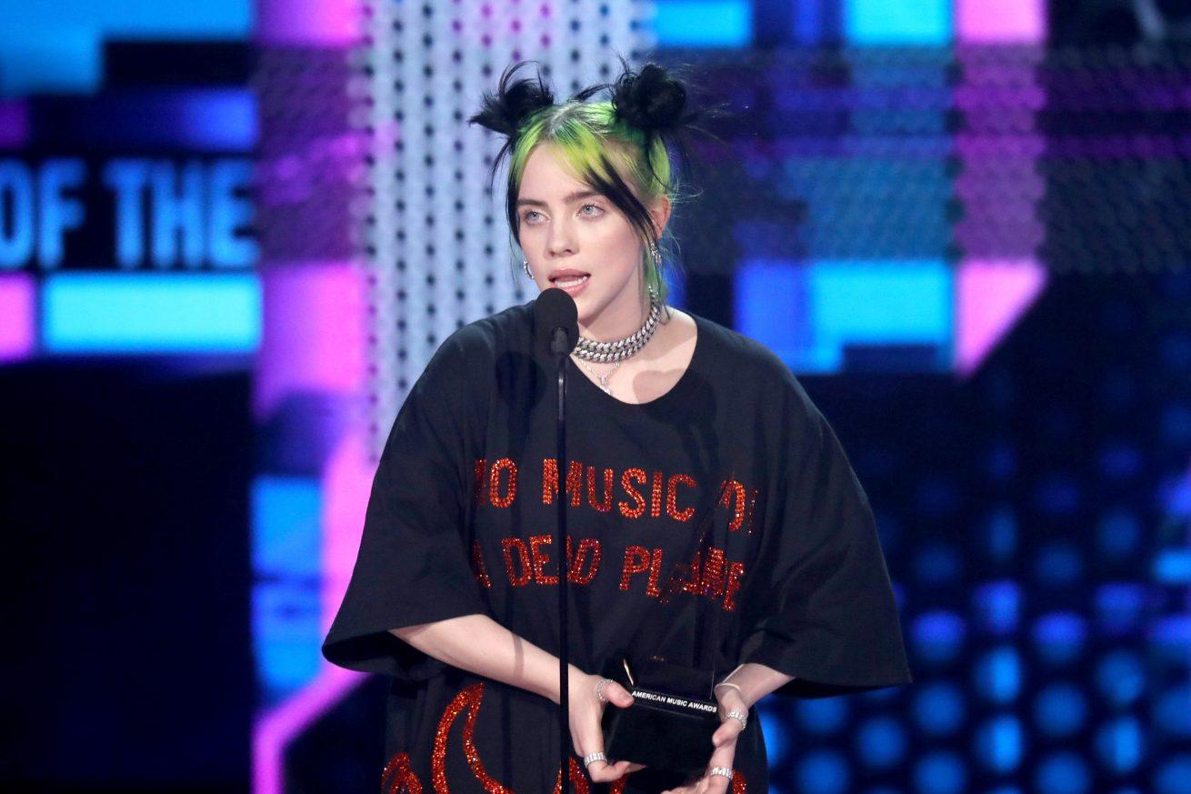 american music awards'a billie eilish damga vurdu
