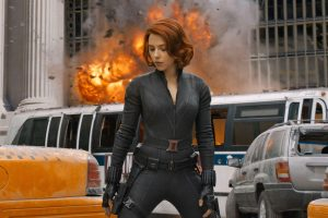 scarlett johansson'lu black widow filminden ilk fragman