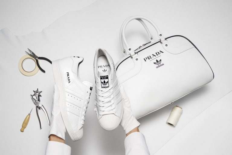 prada ve adidas iş birliğinden ilk fotoğraflar