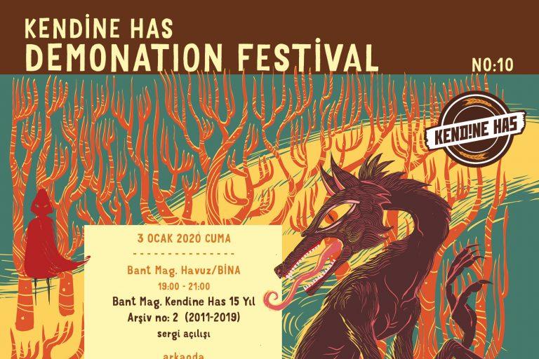 demonation festival no: 10'a davetlisiniz