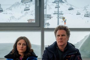 julia louis-dreyfus ve will ferrell'lı downhill'den ilk görsel