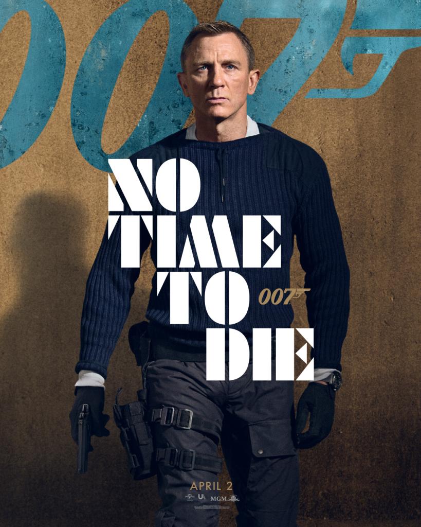 yeni james bond filmi no time to die'dan karakter posterleri geldi