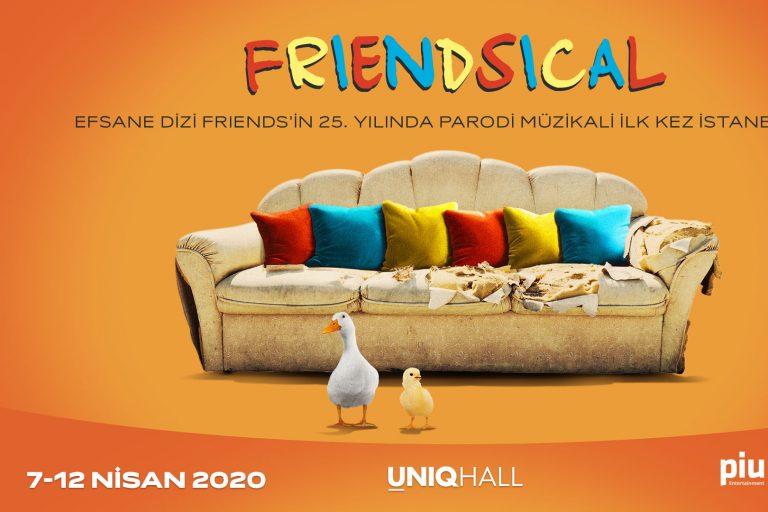friends'in 25. yılında friends parodi müzikali friendsical türkiye'de!