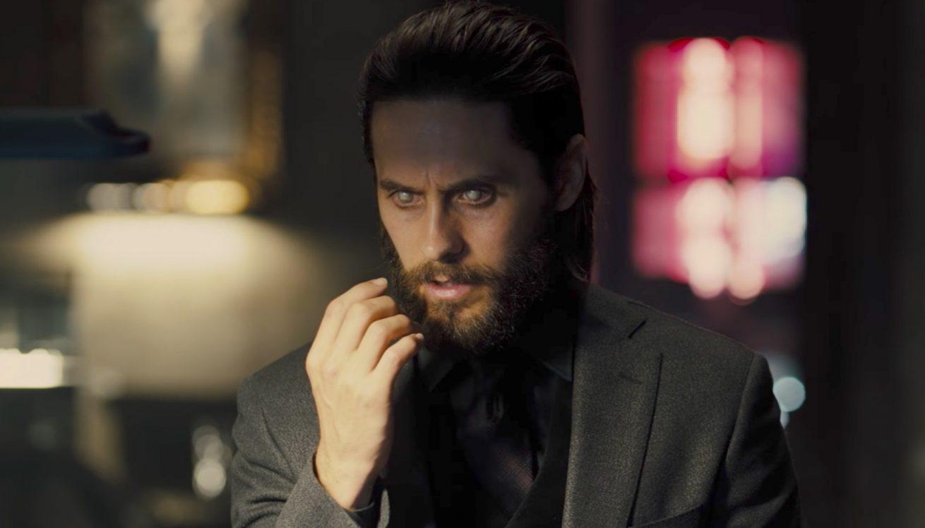 spiderverse'ün vampiri morbius'un filminden ilk fragman
