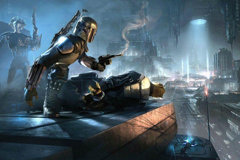 star wars: underworld'ün test çekimleri gün yüzüne çıktı