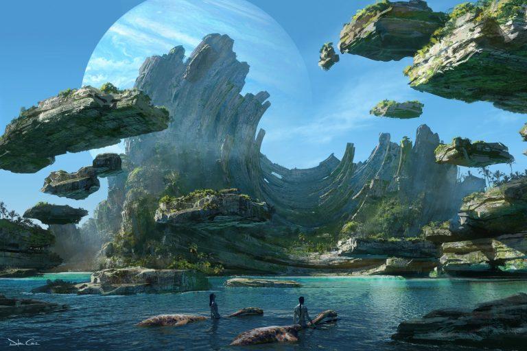 avatar 2'nin konsept tasarımları ortaya çıktı