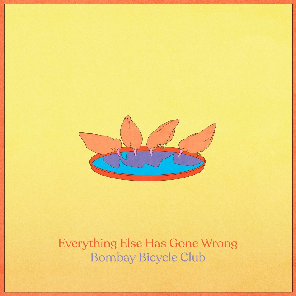 bombay bicycle club'ın yeni albümü everything else has gone wrong yayında