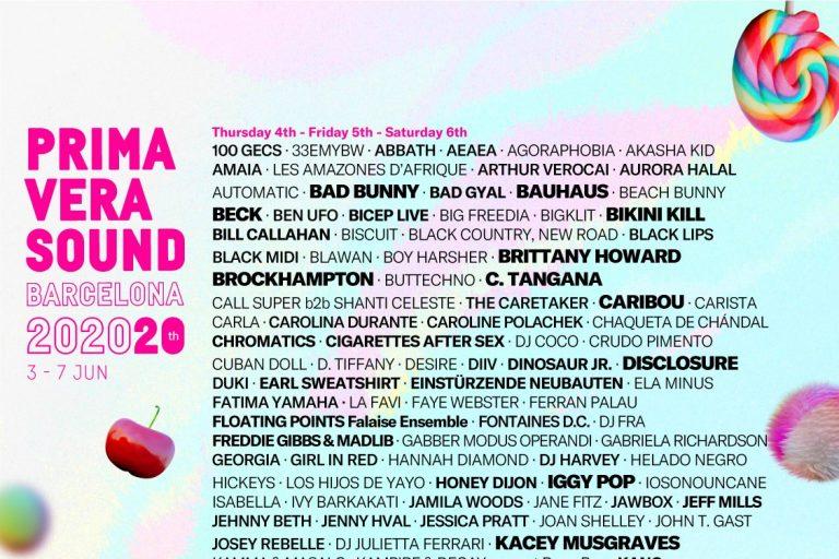 primavera 2020 line-up'ı alev alev