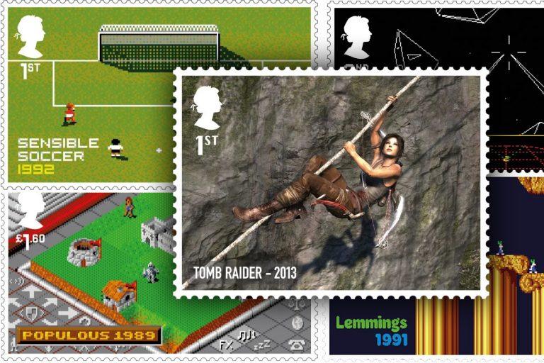 royal mail'den video oyunu nostaljisi yaşatacak pul koleksiyonu