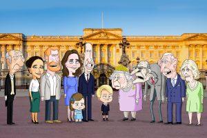 hbo max, yeni animasyon serisi ile kraliyet ailesini taşlamaya hazırlanıyor