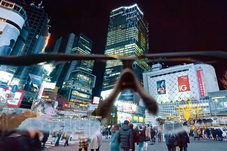 squarepusher'ın yeni videosu ile tokyo'da yapay zeka turu bedavaya geliyor