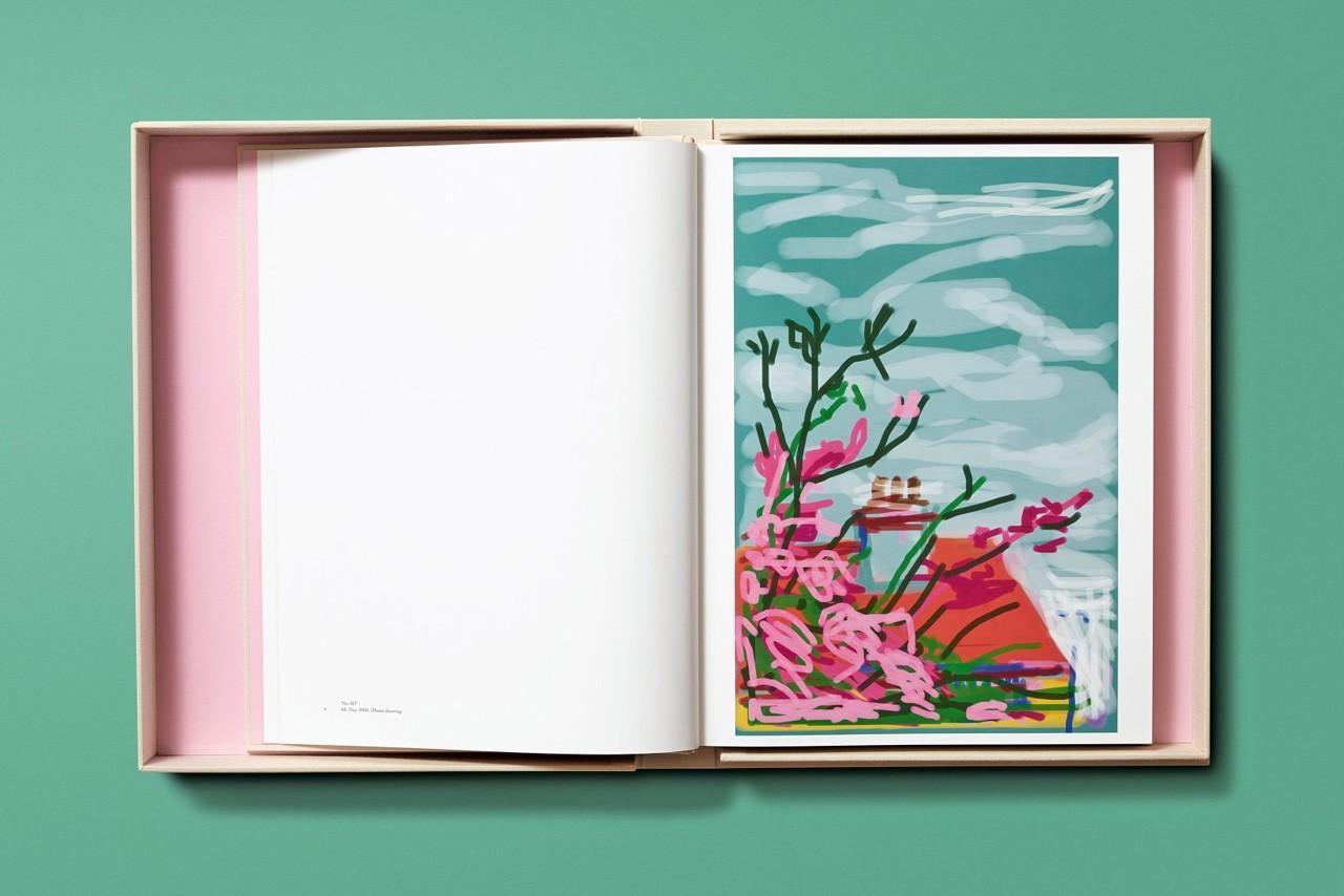 david hockney'nin iphone ve ipad'ten yaptığı çizimler kitap halinde satışa çıkıyor