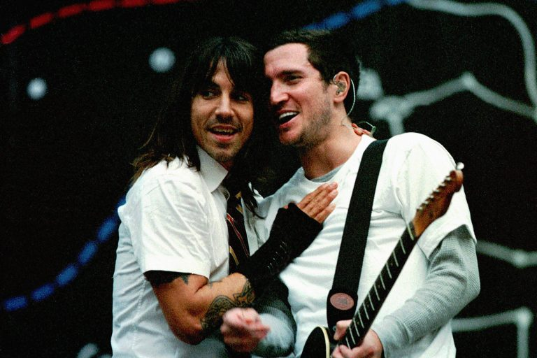 red hot chili peepers, 13 yıl sonra john frusciante ile aynı sahnede