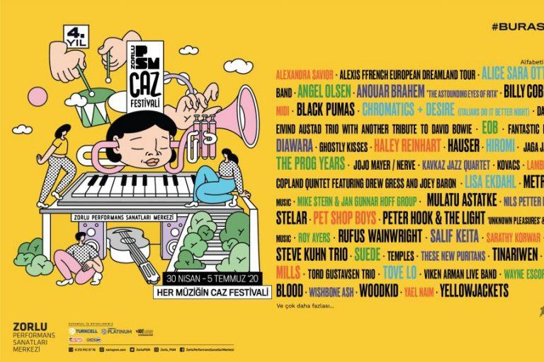 zorlu psm caz festivali programı açıklandı