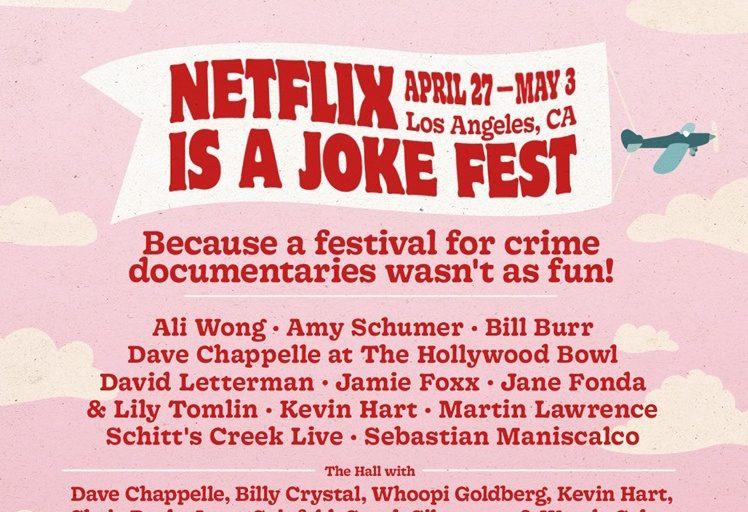 netflix'ten şaka festivali geliyor
