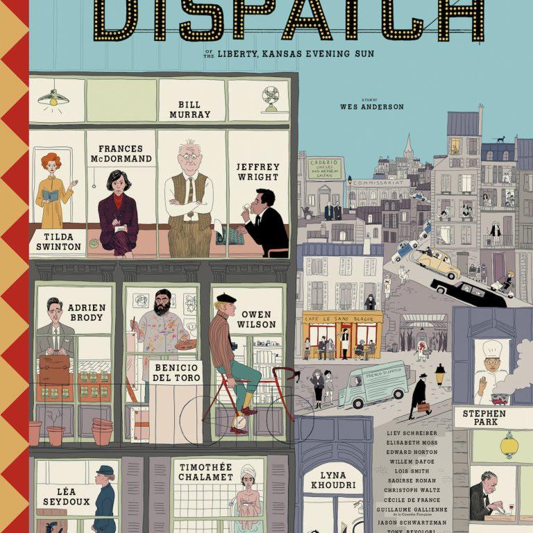 wes anderson'ın the french dispatch kadrosundan izlemelerini istediği beş film