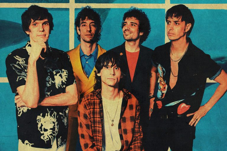the strokes'tan ode to the mets'e animasyon video