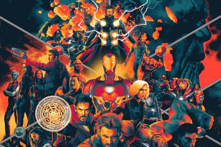 avengers: endgame ve avengers: infinity war soundtrack'leri plak formatında