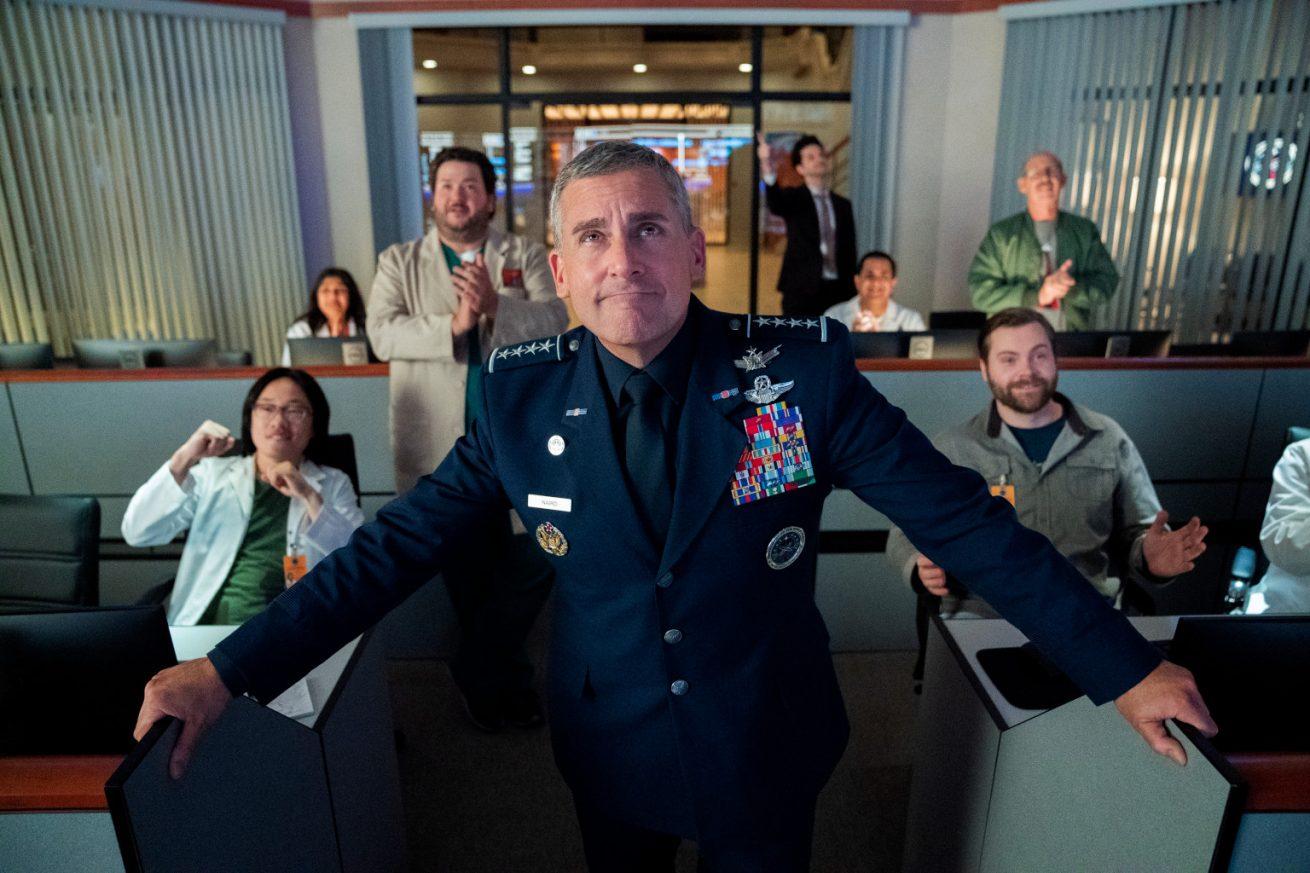 steve carell'in uzay komedisi space force'tan yeni fragman