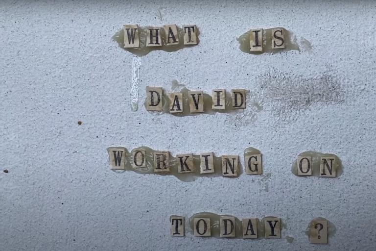david lynch'ten yeni karantina günlüğü video serisi
